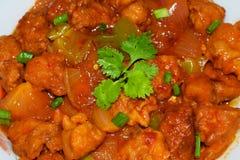 poulet épicé savoureux de piment fort Images libres de droits