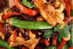 Poulet avec des légumes Image stock