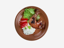 Poulet Bicyclette Royalty Free Stock Image