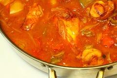 Poulet C de paprika Image stock