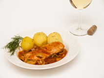 Poulet Chasseur Photographie stock