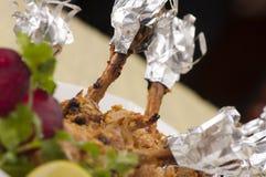 Poulet de BBQ Image libre de droits