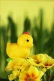 Poulet de massepain, décoration de Pâques Images stock