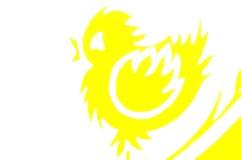 Poulet de Pâques Image libre de droits