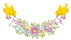 Poulet de Pâques Image stock