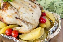 Poulet de thanksgiving Images stock
