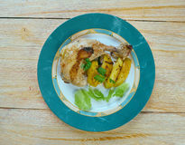 Poulet Dijon le Citron Stock Photography