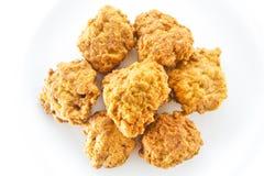 Poulet frit. photos libres de droits
