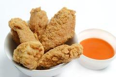 poulet frit Photos stock