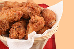Poulet frit Images stock