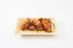 Poulet frit coréen image stock