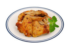 Poulet frit délicieux Photographie stock libre de droits
