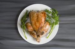Poulet frit, poulet frit prêt à être servi, Photographie stock