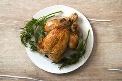 Poulet frit, poulet frit prêt à être servi, Photos stock