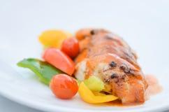Poulet grillé images stock