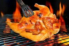 Poulet grillé Image stock