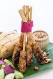 Poulet Satay de Balinese Photos stock