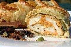 Poulet Tika en pâtisserie images libres de droits