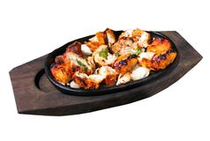 Poulet Tikka Photos stock
