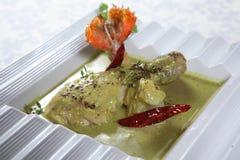 Poulet y crevettes del curry imágenes de archivo libres de regalías