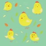 Poulets illustration libre de droits