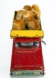 Poulets de camionnage Photographie stock