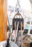 Poulie de bateau image stock