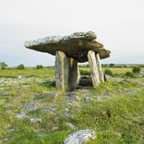 Poulnabrone Dolmen Royalty Free Stock Images