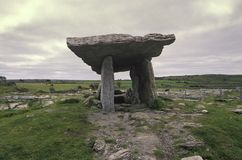 Poulnabrone Dolmen, The Burren, Ireland Stock Image