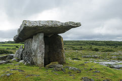 Poulnabrone dolmen, County Clare, Ireland, Europe Stock Image