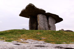 Poulnabrone dolmen in Ireland Stock Photo