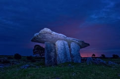 Poulnabrone dolmen 24-07-2017 Stock Photo