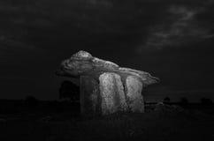 Poulnabrone dolmen 24-07-2017 Royalty Free Stock Photos