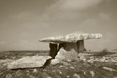 Poulnabrone tomb Royalty Free Stock Photo