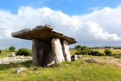 Poulnabrone Tomb, Ireland Royalty Free Stock Photo