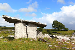 Poulnabrone Tomb, Ireland Royalty Free Stock Photos