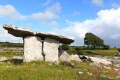 Poulnabrone Tomb, Ireland. Poulnabrone Portal Tomb, western Ireland Royalty Free Stock Photos