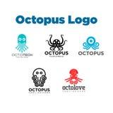 Poulpe Logo Template Photos libres de droits
