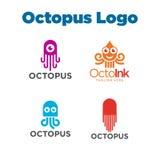 Poulpe Logo Template Image libre de droits