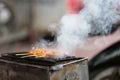 Poultry barbecue Stock Photos