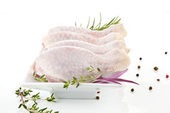 Poultry. Chicken legs. Stock Images