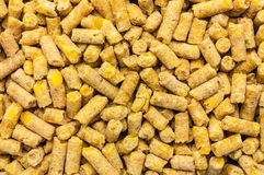 Poultry feed expanded pelleted Stock Photography