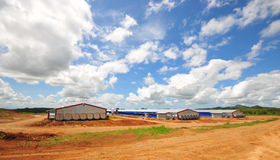 Poultry Houses Stock Images