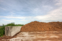 Poultry manure Royalty Free Stock Photos