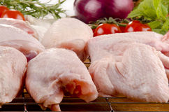 Poultry parts before preparation Royalty Free Stock Image