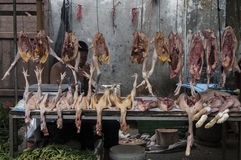 Poultry Stall Royalty Free Stock Photos