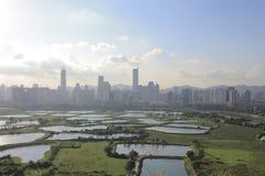 Poumon de TSO de mA à de nouveaux territoires est du nord, Hong Kong image libre de droits