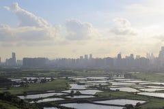 Poumon de TSO de mA à de nouveaux territoires est du nord, Hong Kong photo stock