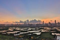 Poumon de TSO de mA à de nouveaux territoires est du nord, Hong Kong images libres de droits