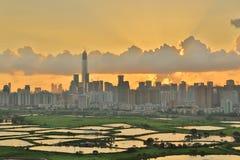 Poumon de TSO de mA à de nouveaux territoires est du nord, Hong Kong image stock